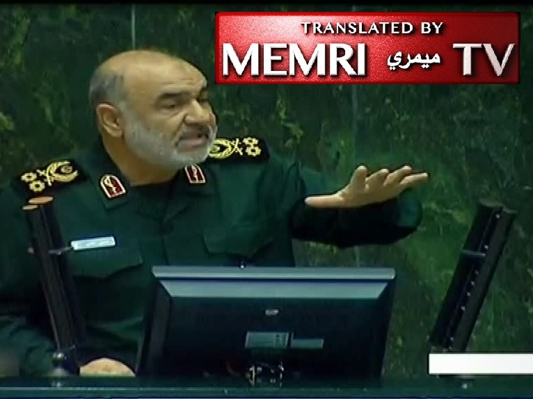"IRGC Commander-in-chief General Hossein Salami: I Wish I Had Crashed and Burned with the Ukrainian Plane; I Wish to be ""Cut in Pieces and Sacrificed"" for the Sake of the Iranian People"